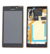 LCD displej (copper) Xperia M2 Aqua / D2403 - 78P7550003N